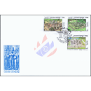 Khmer Culture: Temples in the Angkor Ruins -FDC(I)-