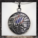 Medallion with *VIKING SHIP*