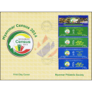 Myanmar Census 2014 (I) -FDC(I)-