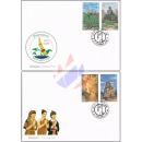 Nationales Tourismusjahr 1999/2000 (III) -FDC(I)-