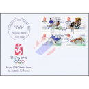 Olympische Sommerspiele, Peking 2008 -FDC(I)-