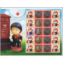 PERSONALIZED SHEET: Postman -THAI BRITISH-