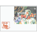 PHILEXFRANCE 99, Paris: Still Life French painter (256) -FDC(I)-