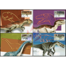 Prehistoric animals (dinosaurs) -MAXIMUM CARDS-