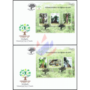 International Year of Forests 2011 (232-233) -FDC(I)-