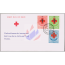 Red Cross 1953 -FDC(I)-
