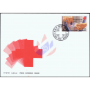 Red Cross 1986 -FDC(I)-