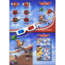 PERSONALIZED SHEET: Disneys PLANES with 3D Glas -PS(064)-...
