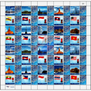 PERSONALIZED SHEET: ASEAN Letterboxes and National Flags