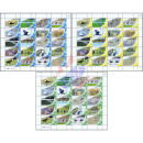 PERSONALIZED SHEET: Sea-Birds -PS(016-018)- (MNH)