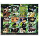 PERSONALIZED SHEET: Animals in Thailand Zoo´s 2013...