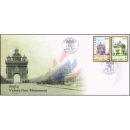 Victory Gate Monument Patuxai -FDC(I)-