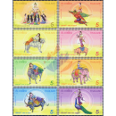 Songkran 2016: King Kabilaprom and his seven daughters (MNH)