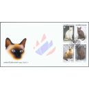 THAIPEX 95: Siamese Cats -FDC(I)-