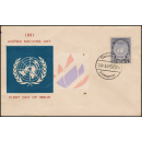 Tag der Vereinten Nationen 1951 -FDC(I)-