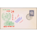 Tag der Vereinten Nationen 1955 -FDC(I)-