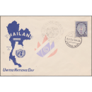Tag der Vereinten Nationen 1956 -FDC(I)-