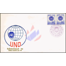 Tag der Vereinten Nationen 1966 -FDC(I)-