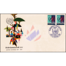 Tag der Vereinten Nationen 1967 -FDC(I)-