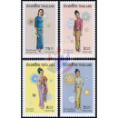 National Costumes of Thai Women