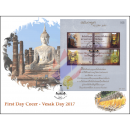 Vesak-Day: The Buddha´s Words from Elephant Chapter (357) -FDC(I)-