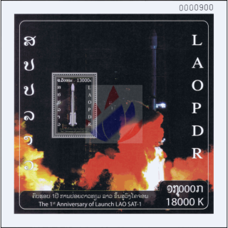 1st Year of Launch LAO SAT-1 (259)