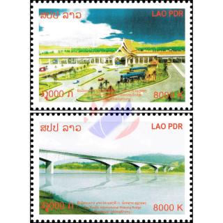 Opening of the 4th Thai - Lao Mekong bridge
