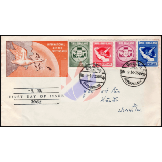 Internationale Briefwoche 1961 -FDC(III)-TG-