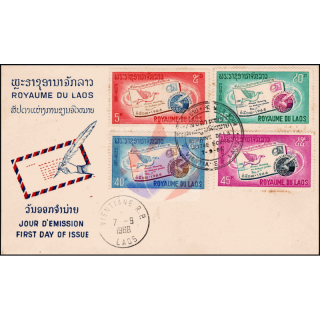 Internationale Briefwoche 1966 -FDC(I)-I-