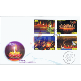 Lichterfest Loi Krathong -FDC(I)-IS-