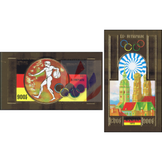Olympic Summer Games, Munich -IMPERFORATED-