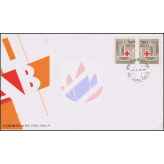 Red Cross 1977 -FDC(I)-