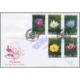 Waterlilies -FDC(I)-